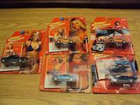 Johnny Lightning 5 car lot hot wheels matchbox
