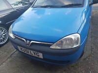 Vauxhall Corsa 12 V 2001r .