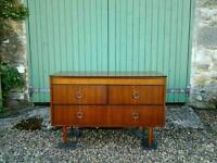 Retro, Vintage, early 1970's Chest of Drawers / Dressing Table