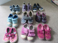 Baby toddler shoes job lot sizes 4 - 7