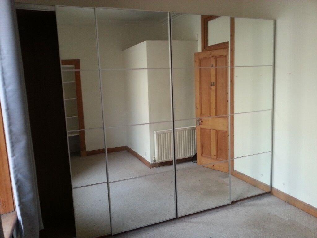 Ikea Pax/Auli sliding wardrobe doors only in Merchiston