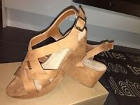 New look Tan flatform heels