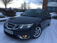 2008 SAAB 9-3 93 AERO 2.0T 210BHP, SPORT MODE, HEATED SEATS, HPI CLEAR, 12 MONTHS MOT, XENONS
