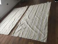 Ikea top quality & design striped Curtains extra long