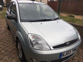 Stunning Ford Fiesta ghia *new mot*