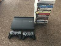 Ps3 500gb with 25 games