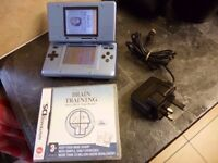Nintendo DS With Brain Training Game