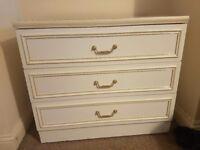 Vintage white drawers FREE!
