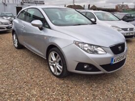 Seat Ibiza 1.4 16v Sport SportCoupe 3dr Petrol Manual, 1 OWNER FROM NEW. FULL SERVICE HISTORY.2 KEYS