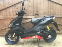 Aprilia sr 50cc factory Carbon fibre limited-edition scooter moped