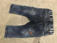 Baby name it jeans size 9-12 months