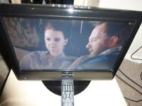 lovely , FLAT SCREEN ,,matsui 16 inch tv with new genuine matsui remote