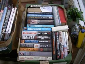 JOB LOT 23 HARDBACK BOOKS LOT FIVE