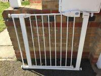 Lindam baby gate + extension