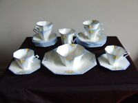 MELBA ART DECO TEASET no. 4221