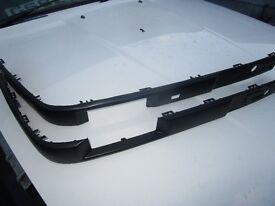 BMW e30 FACELIFT BLACK BUMPER TRIMS ! vgc.