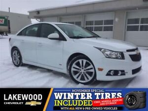 2014 Chevrolet Cruze 2LT (Heated Leather, Colored Touch, Remote