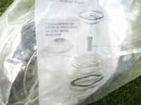 Stainless Steel basket strainer and full waste kit