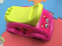 Children's Pink & Green Mega Books Ladybird Whirl N Twirl Whirlee Ride-On Toy - Lots of Fun