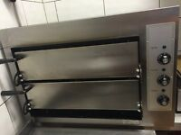 Commercial Pizza Oven Double Deck
