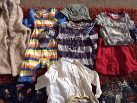 Baby boy clothes 0-12 months