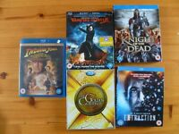 Blu rays like new 4 pounds each or 6 for 20.00 pounds,or 50.00 pounds for the lot 20 total