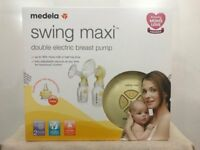 Brand New Medela Swing Maxi Double Electric Breast Pump with Calma