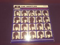 Beatles Hard Days Night origi Mono -Tax Code Mono -with rare record collectors mags included