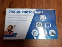 HD Digital Photo Frame. In Box. Never used