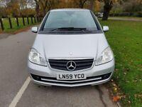 2009 Mercedes-Benz A Class 1.5 A150 Classic SE 5dr+ULEZ+HPI Clear+Service History+2 Keys+1F/Keeper