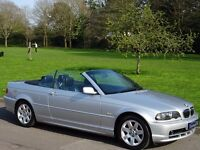 2001 BMW 3 Series 2.2 320Ci Automatic 2dr Convertible - FULL BLACK HEATED LEATHER - JAN 2018 MOT