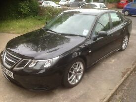 Saab 9-3 1.9TiD (150) Automatic Diesel 2008 Vector Sport in Black, Low Mileage