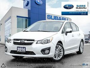 2014 Subaru Impreza 4Dr Limited Pkg at Leather,Roof,B.Tooth,H.Se