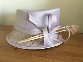 M&S Occasion Wedding Hat Lilac