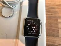 Apple Watch Series 1 Aluminium 42mm Midnight Blue Strap