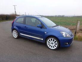 2008 Ford Fiesta ST150...Performance Blue...Long MOT no advisories