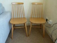 Set of 2 Ercol Style Chairs