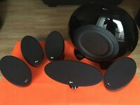 Home Cinema Speakers System KEF KHT3005 BL (SE) 5.1