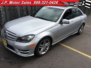 2013 Mercedes-Benz C-Class C300, Automatic, Leather, Sunroof, AW