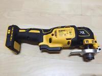 Dewalt 18v brushless multi tool bare