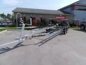 2018 Excalibur PT4525T - TANDEM PONTOON TRAILER - 22ft to 25FT G