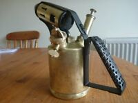 Vintage British Monitor No26 Paraffin torch, professionally renovated.