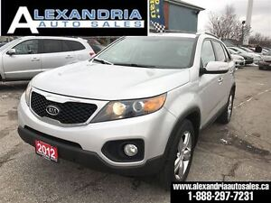 2012 Kia Sorento EX AWD leather 128 km