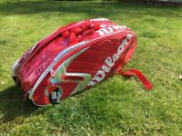 WILSON PRO TOUR SUPER 6 RACKET BAG