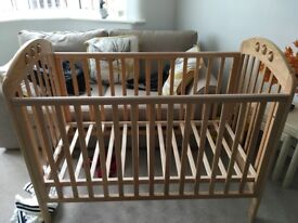 Cot, good condition from John Lewis.