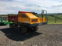 Kubota CR2700 Tracked Dumper