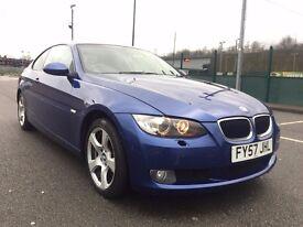 2007 (Sep 07) BMW 320i 2.0 SE - Coupe 2 Doors - Petrol - Manual - BLUE ** 12 MONTHS MOT **