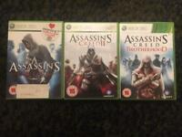 Assassin's Creed games for XBox 360