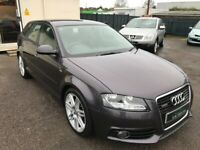 2011/11 AUDI A3 1.6 TDI S LINE 5DR AN STUNNING CONDITION SUPPLIED WITH NEW MOT AND SERVICE