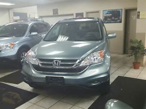 2010 Honda CR-V EX , AWD with sunroof , accident free